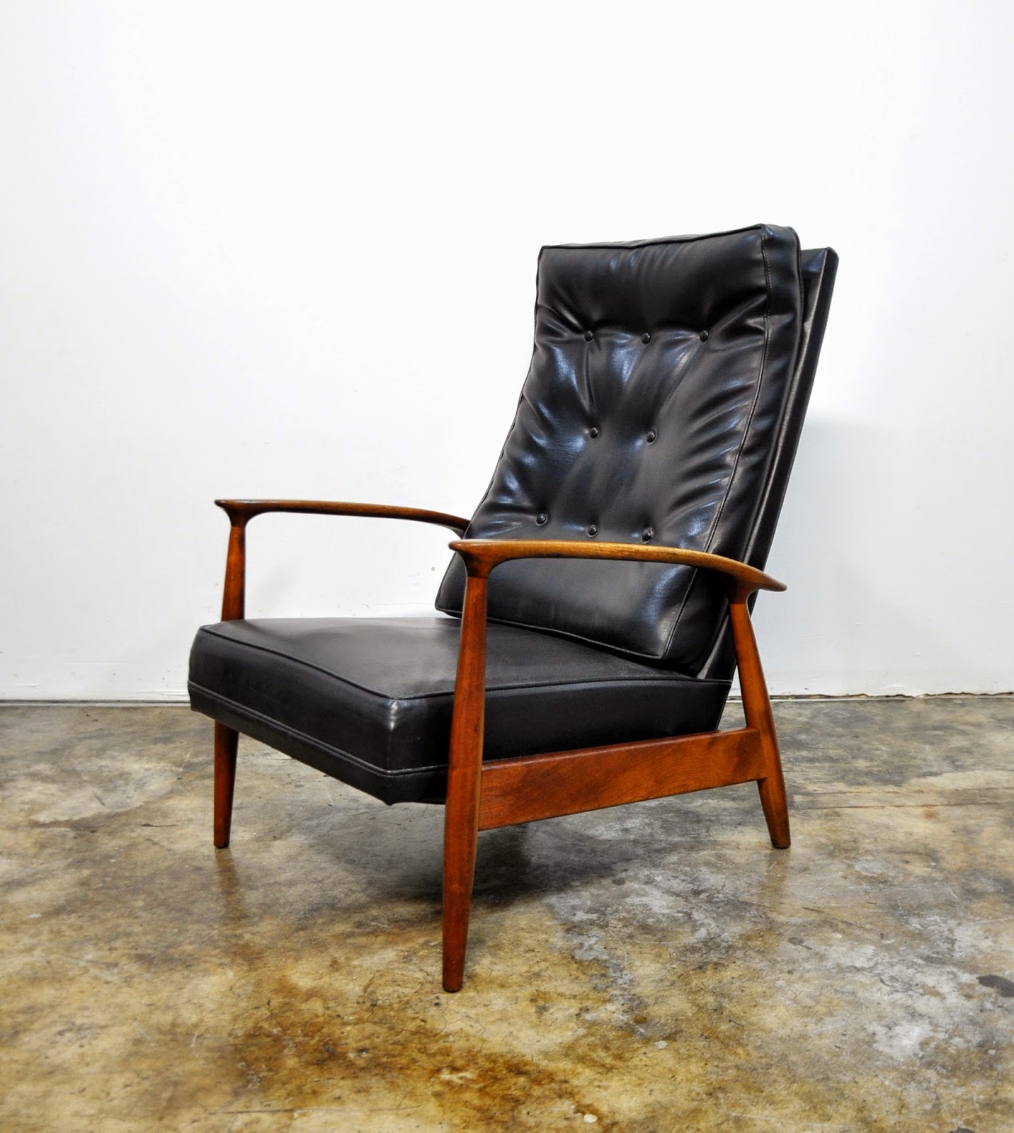 Milo Baughman for Thayer Coggin Inc. Recliner Lounge Chair : baughman recliner - islam-shia.org
