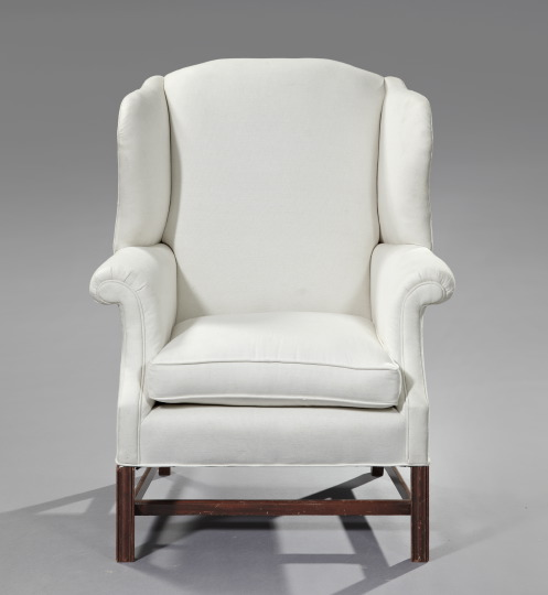 wing back chairs are classic