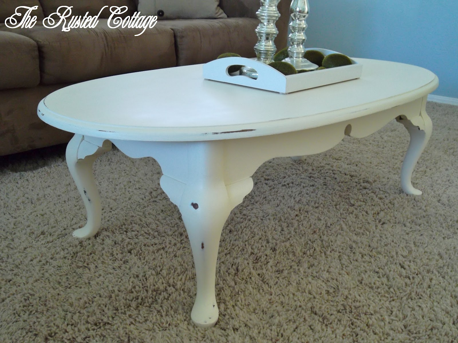 Painted Coffee Tables ~ The life of a grow chalk paint coffee table