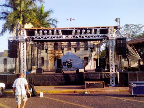 Aluguel de palco para shows e eventos