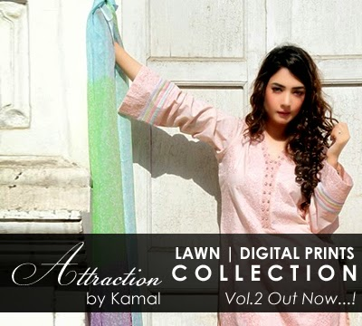 Attraction by Kamal LAWN | DIGITAL PRINTS Collection 2014