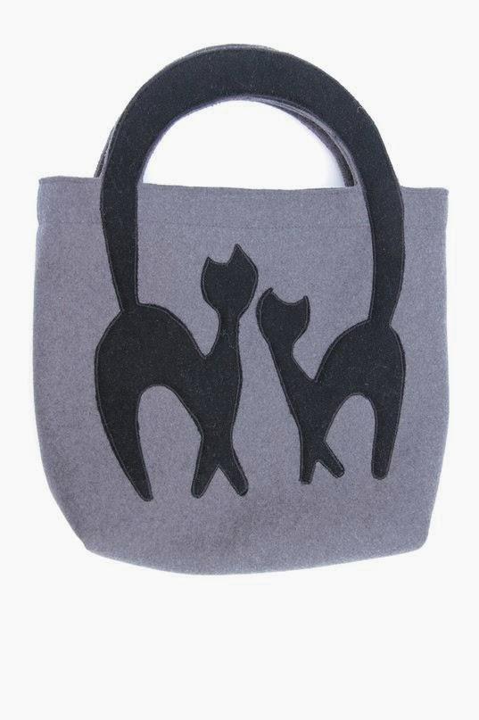 сумка из сукна кошки