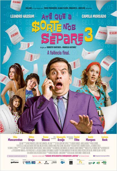 Filme Poster Até que a Sorte nos Separe 3 TS XviD & RMVB Nacional