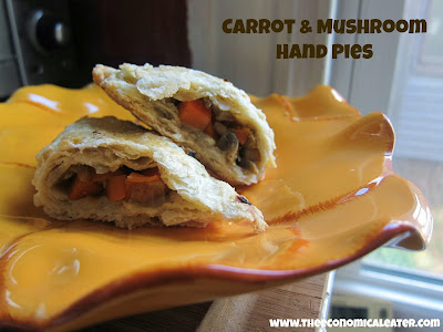 Carrot & Mushroom Hand Pies | The Economical Eater