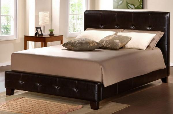 the elegance of leather bed furniture for your bedroom desig
