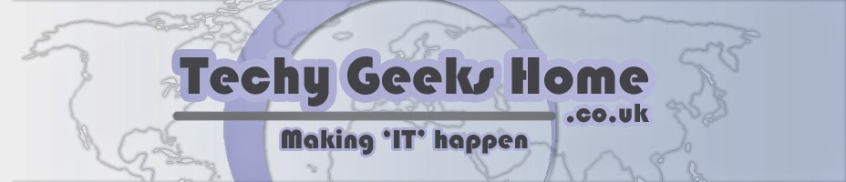 Techy Geeks Home - For all your IT needs!