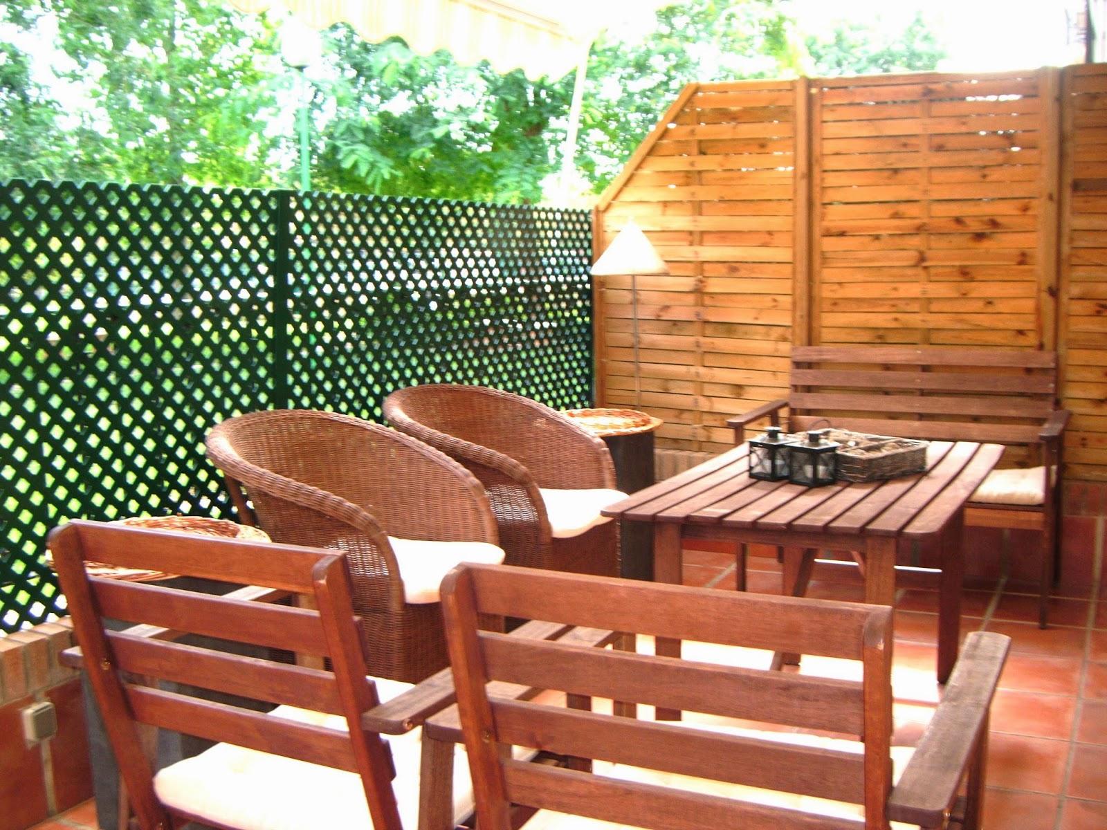 Azulcasinegro ikea valencia un sue o hecho realidad for Conjunto terraza ikea