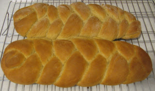 Braided Bread with a Touch of Rye