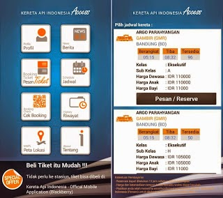 Download aplikasi KAI Access aplikasi pemesan tiket kereta API