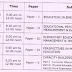 TS D.Ed 1st Year Revised Exam Time Table 2014-2016 Batch