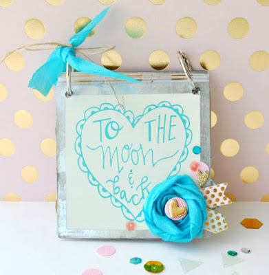 SRM Stickers Blog - 2016 Mini Calendar by Cathy - #minicalendars #2016 #die #giftcalendar #twine #DIY