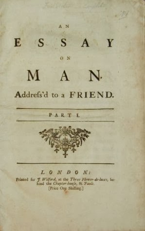 Alexander Pope Essay On Man