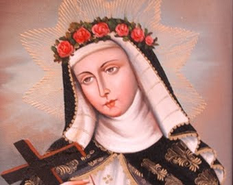 Santa Rosa de Lima,  primera santa del continente americano.  Lima, 1586-1617