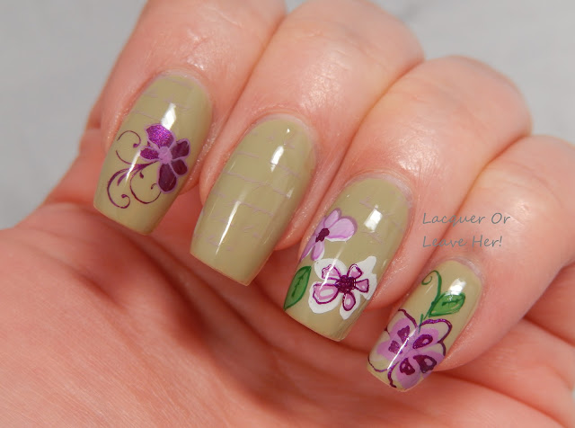 Spring flowers with CJS-01 and Zoya Ireland
