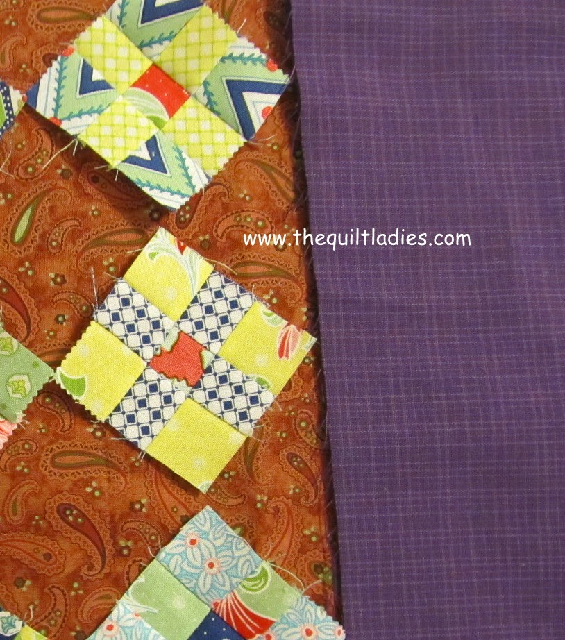 9-Patch Table Topper Quilt Pattern Tutorial.