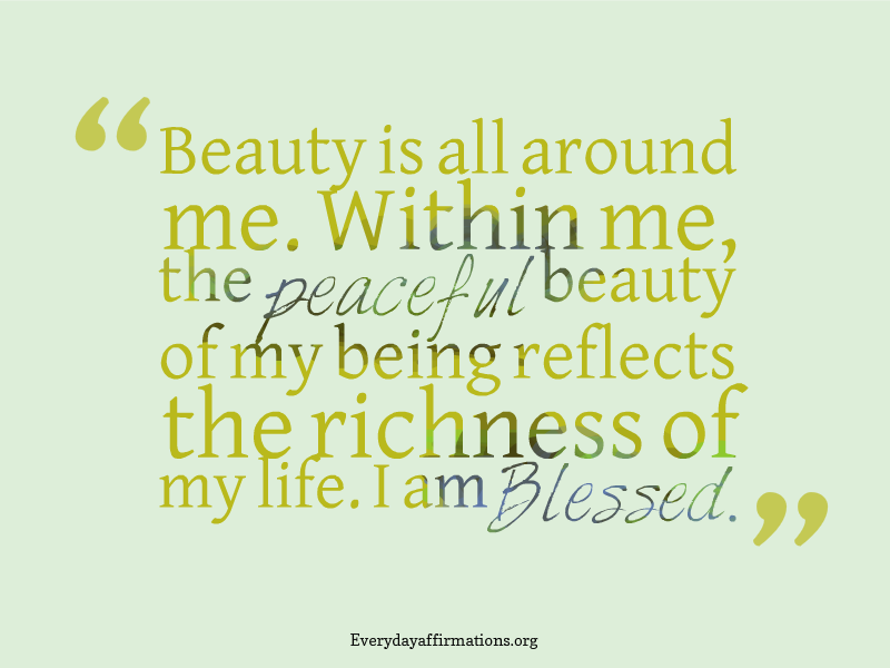 Spiritual Affirmations, Daily Affirmations 2014