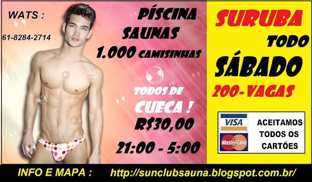 ! SUN CLUB A SAUNA DE TAGUATINGA