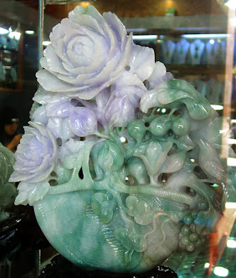 great Myanmar jade carving