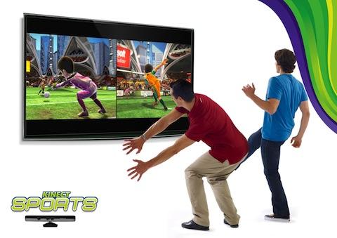Nom des jeux : KinectSports 1 et 2