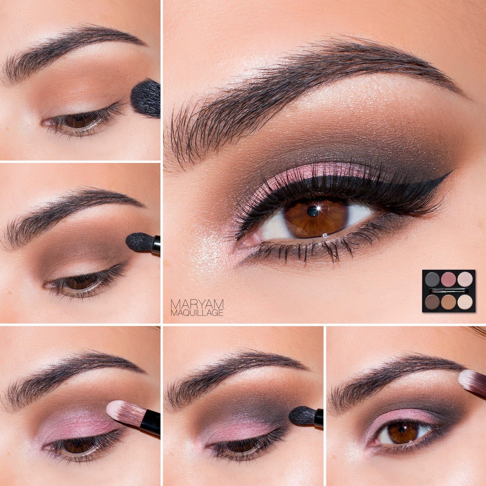Maryam maquillage spring smokey eye with french nude palette baditri Image collections