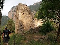 Arribant a la Casa del Castell de Roset