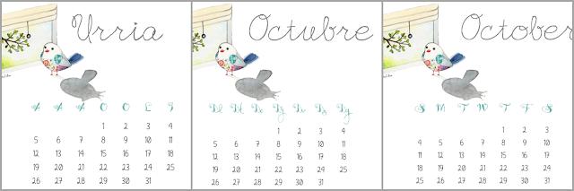 calendario octubre 2015 descargable