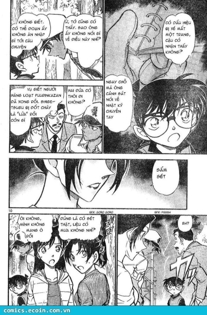 Detective Conan - Thám Tử Lừng Danh Conan chap 617 page 10 - IZTruyenTranh.com