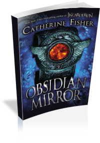 Book Cover: The Obsidian Mirror by Catherine Fisher