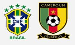 مشاهدة مباراة البرازيل و الكاميرون اليوم 23-6-2014 بث مباشر كأس العالم