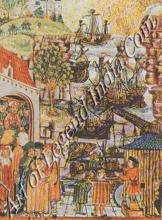 Hanseatic merchants, The merchants of the Hanseatic League were always welcome in Bruges as they brought prosperity.