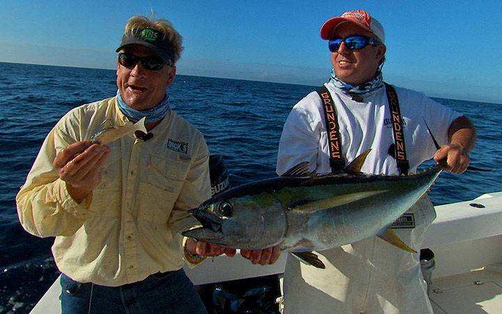January Louisiana Tuna Fishing Report with Capt. Mike Ellis