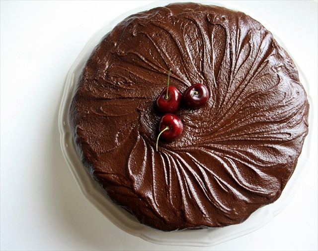 Lion House Cherry Chocolate Cake, ButterwithaSideofBread.com