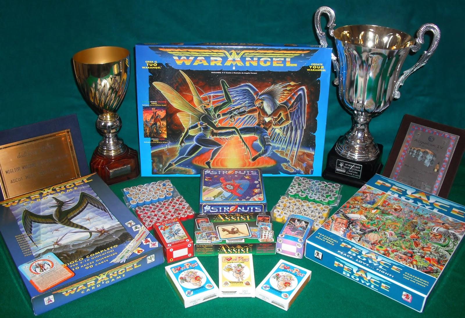 Planet comics focus on angelo porazzi e warangel - Miglior gioco da tavolo ...