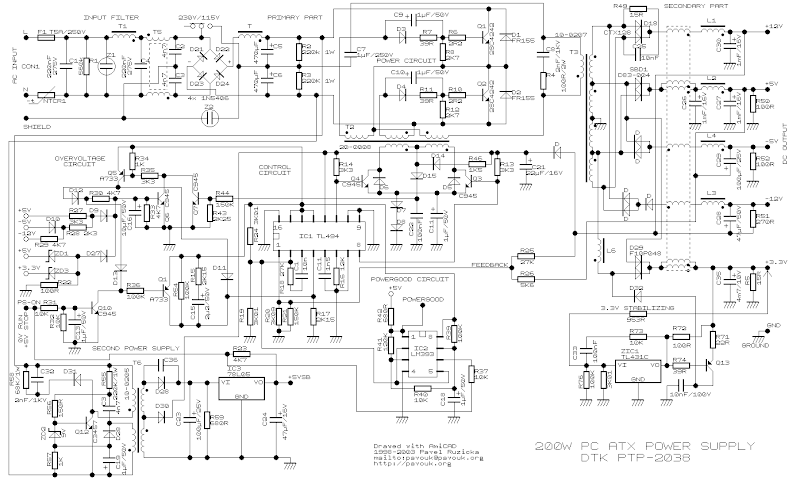t1 line wiring diagram images wire diagram t1 niddiagramcar tl494 200w atx pc power supply wiring circuit