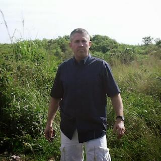 Dr. Forest in Uganda.
