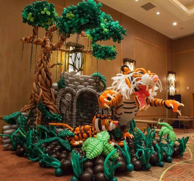 17 Esculturas globo absolutamente increíble