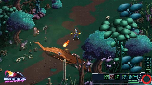 Amor ochentero en Megamagic, una mezcla de estrategia y rol de acción de los creadores de Nihilumbra