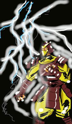 shredder inspired feudal warrior