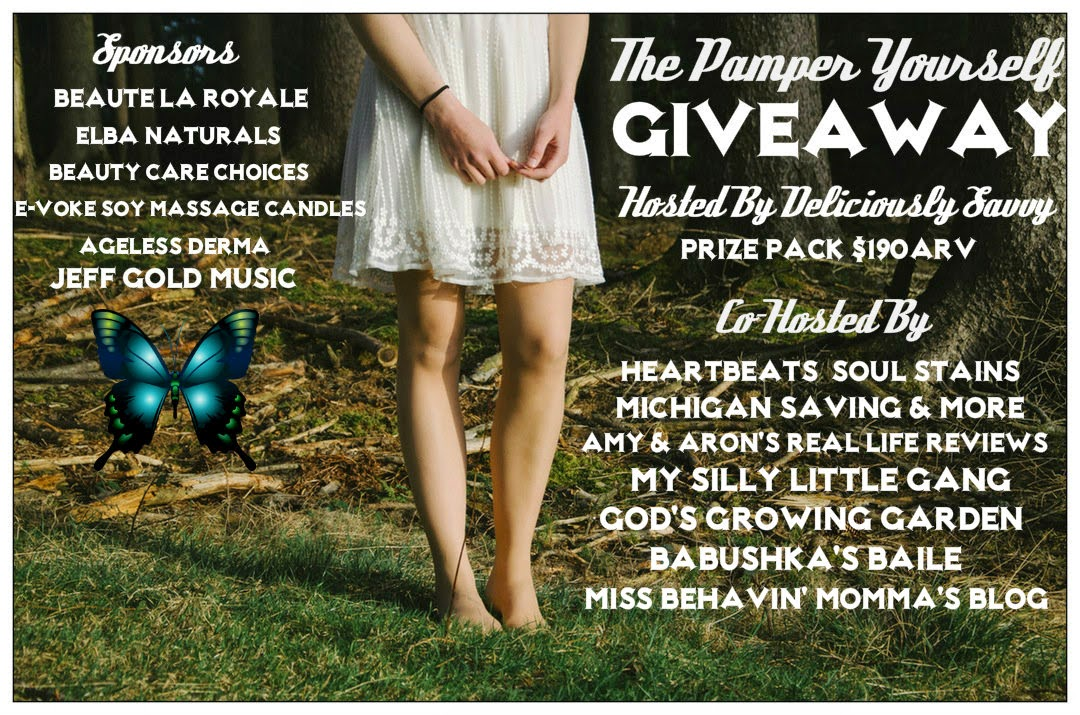 The Pampering Giveaway