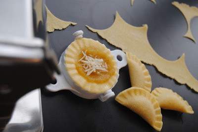Squash Ravioli made with Roma Ravioli Makers