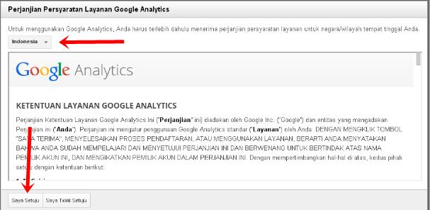 Cara Memasang Google Analytics Pada Blog Terbaru 5