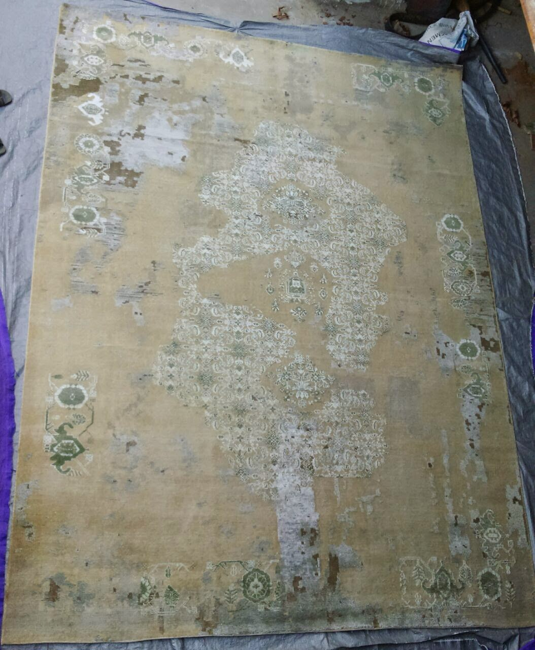 OXIDISED HANDKNOTTED carpets