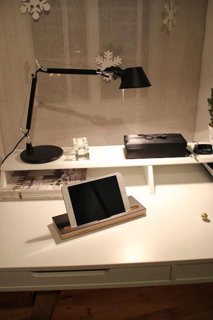 Designer Schreibtischlampe schwarz