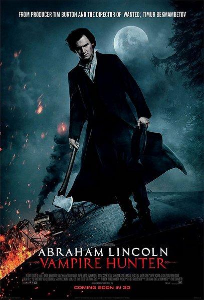 abraham lincoln vampire hunter, movie, 3d movie
