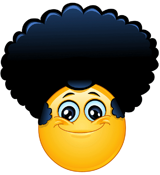 Afro Smiley