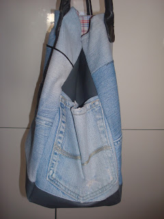 jeans recycling mami bag tag f r ideen. Black Bedroom Furniture Sets. Home Design Ideas