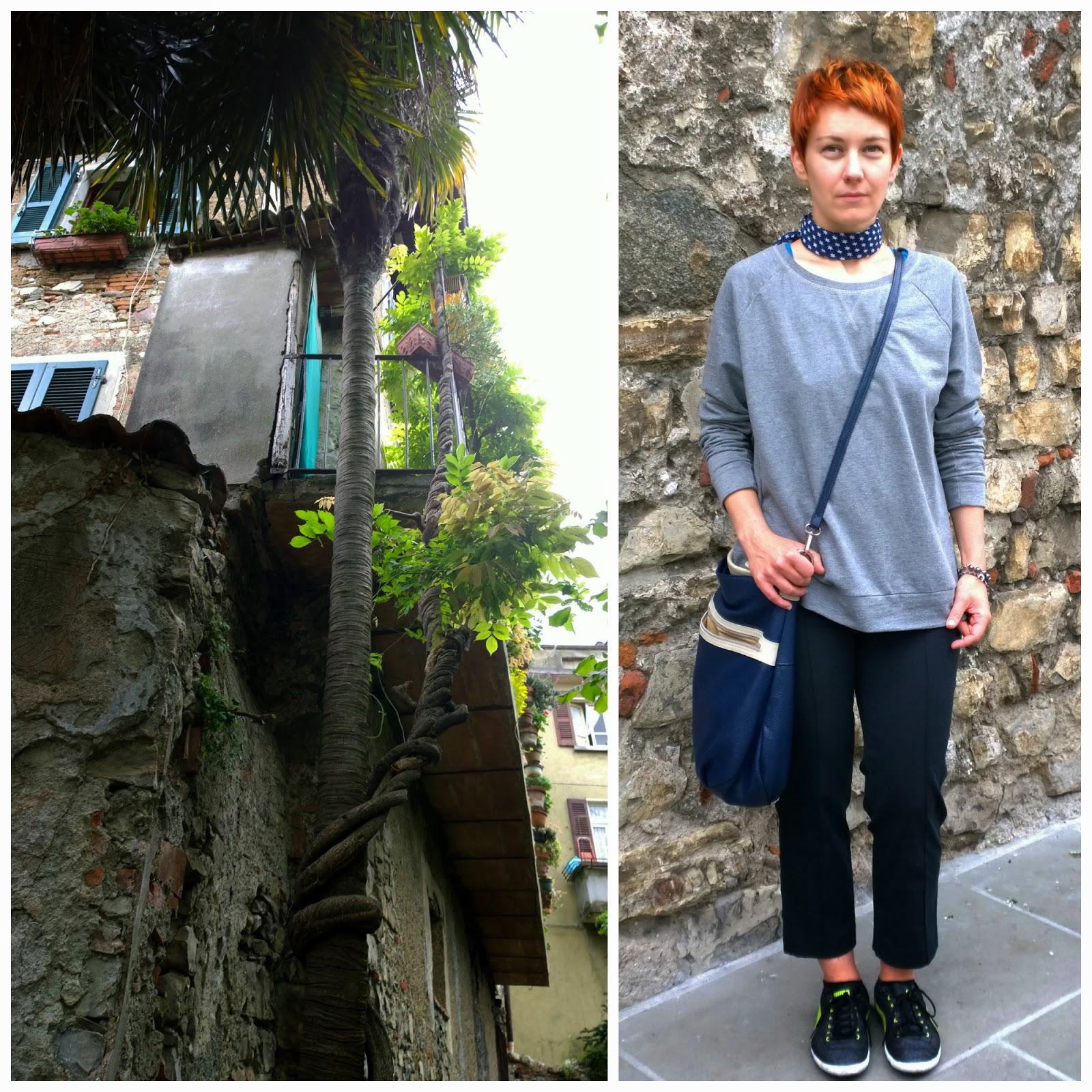 Balcone e outfit
