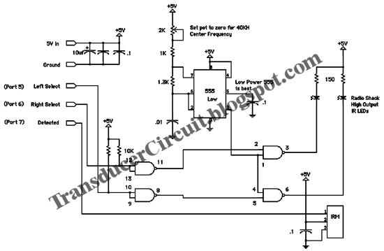 Analog Signal From Proximity Circuit Transducer Circuit Diagram
