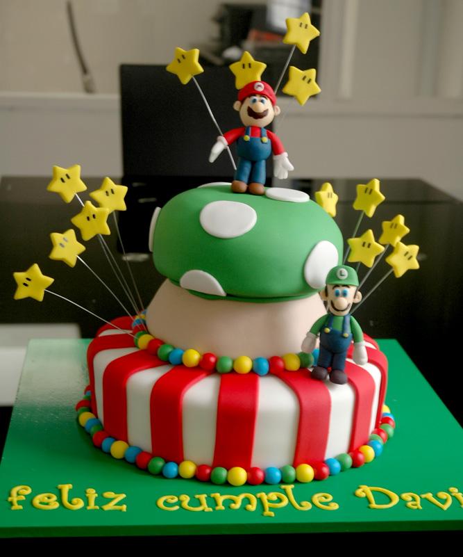 Ninos Fiestas Infantiles Modelos Tortas Mario Bros Pictures
