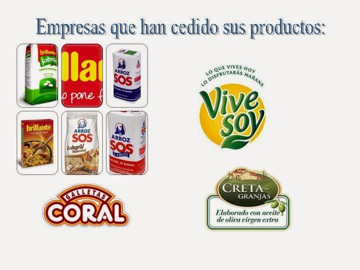 Recetas con estos productos:
